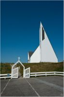 A church on the island by karlomat