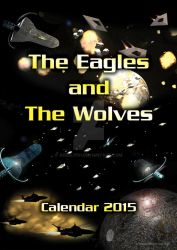 The Eagles and The Wolves 2015 Calendar - Cover by akeel1701