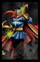 DOCTOR STRANGE by KYLE-CHANEY