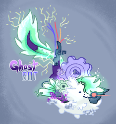 Ghost Bot Dragon Drop(CLOSED) by Mewkyz