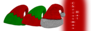 [MMD] Christmas Hats - DL by JoanAgnes