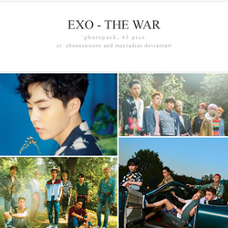 EXO - The War Photopack by mayradias
