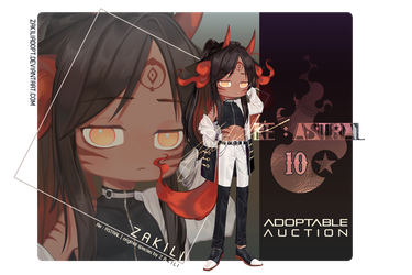 ADOPTABLE AUCTION | RE:ASTRAL 10 [CLOSE] by zakiliadopt