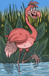 Flamingo by ZoeStead