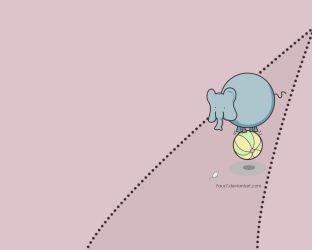 Elephant by Faus7