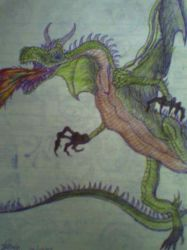 The Hungarian Horntail... by Azynn