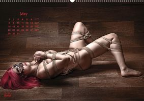 Beauty of Rope I - Fine Art of Bondage - Calendar by Model-Space