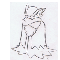 Vampire Bat Fakemon Sketch by mssingno