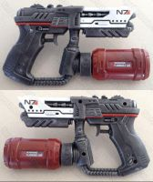 Mass Effect N7 flamethrower pistol prop by GirlyGamerAU