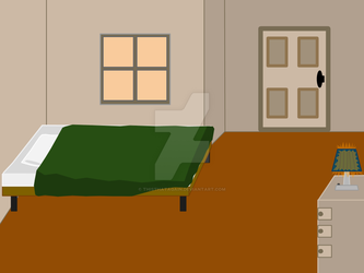 Bedroom background (old) by thisthatagain