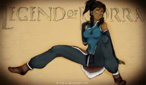 THE LEGEND OF KORRA - by Nyna by N-Y-N-A