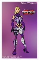 Tekken - Nina Williams by Femmes-Fatales