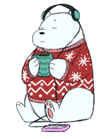 Ice Bear season by PixelSparrow