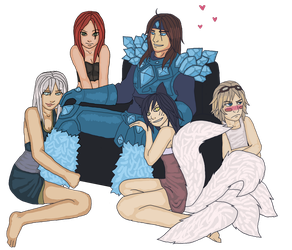 Taric, and his harem by danigal