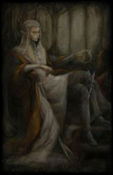 Thranduil The Mirkwood King and the Queens Crown by DustinPanzino