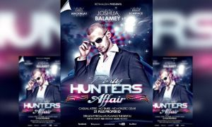 PSD Party Hunters Affair Flyer Template by retinathemes