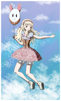 Falling at the Speed of Wonderland by Kiaki--chan