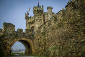 Castle of Ponferrada, Spain by cheese6623