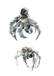 Arachnodrones by lionelmarty