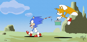 Sonic CD W.P.- Gone fishing by RGXSuperSonic