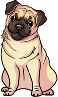 You have to luv the pug by Plasticss