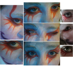 Kefka Eye Makeup by Wheeljack299