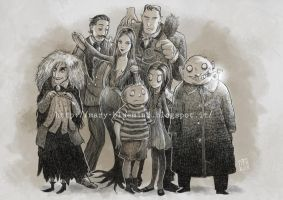 Addams family by marianovella