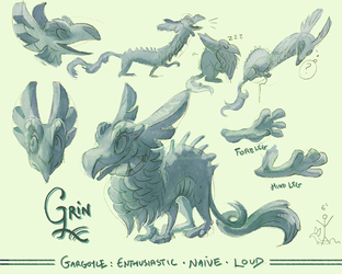 Character: GRIN by Rowkey