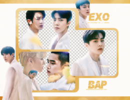 Pack Png 762 // EXO (Elyxion) by BEAPANDA