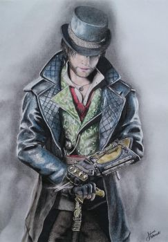 Jacob Frye : AC Syndicate Drawing by JakubQaazAdamski