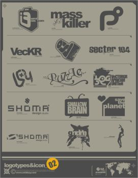 logo and icon stock 2 by oxidizzy