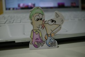 PnF: Little Phineas and Ferb by OneSmartIdiot