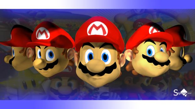 Old Mario Model Expressions by Sigacomer