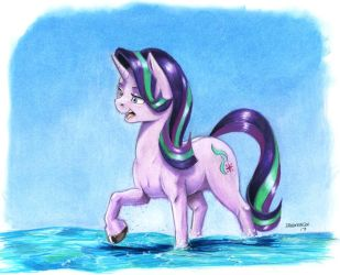 Starlight Glimmer quick color by Baron-Engel