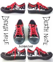 Death Note Shoes by juliobolivar