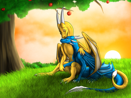 C - Under An Apple Tree by Jewel-Thief