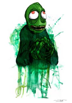 Salad Fingers by Simplicus