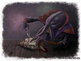Illithid surgery by JaimeNieves