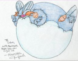 Inflated Swampert by Halfshell