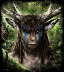 Eyes of the forest by Ionus