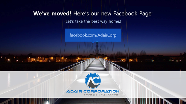 Adair Corp - We moved to a new FB page by wifun2012