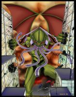 Neon Genesis Cthulhu by GreenGosselin