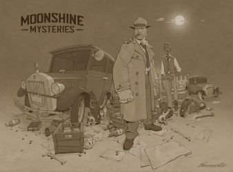 Moonshine mysteries cover by wavenwater