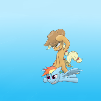 Surfing on a Rainbow by thestoicmachine