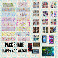 PACK SHARE HAPPY 400 WATCH by Ikthex