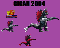 Gigan 2004 Custom Sprite by Burninggodzillalord