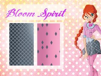 Bloom spirit school patterns by Dessindu43