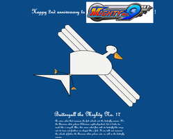 It's Buttergull the Majestic Mighty No. 17! by Vuxovich
