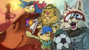 Worldcup Mascots by aun61
