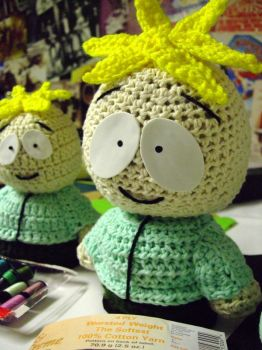 Crocheted Butters 2 by JaimeNWester